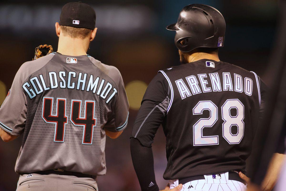 MLB: Arizona Diamondbacks at Colorado Rockies