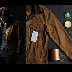 Tin Cloth Trucker Jacket