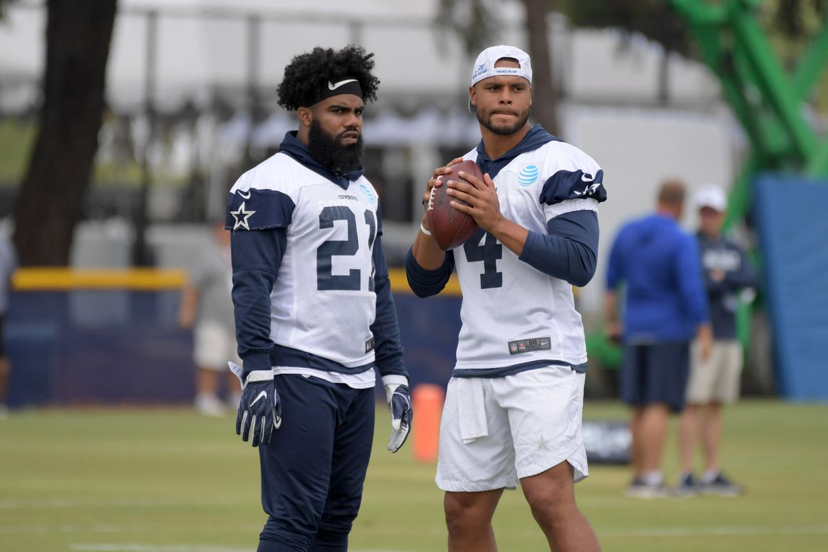 Why Dak Prescott should run more and why he should stop throwing to Ezekiel  Elliott 03c827ead