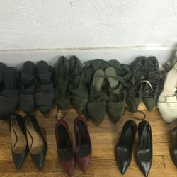 Sample shoes, $25