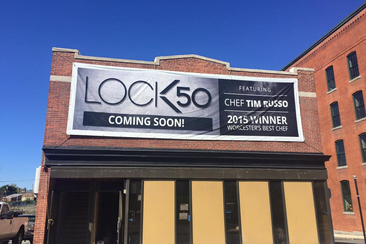 Lock 50 under construction