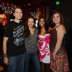 Jon Scallion, Christina Wilson, Ja'Nel Witt and Mary Poehnelt.