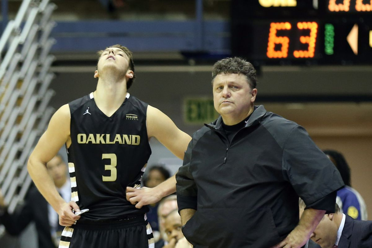 It was a frustrating night for Travis Bader and Oakland against Indiana.
