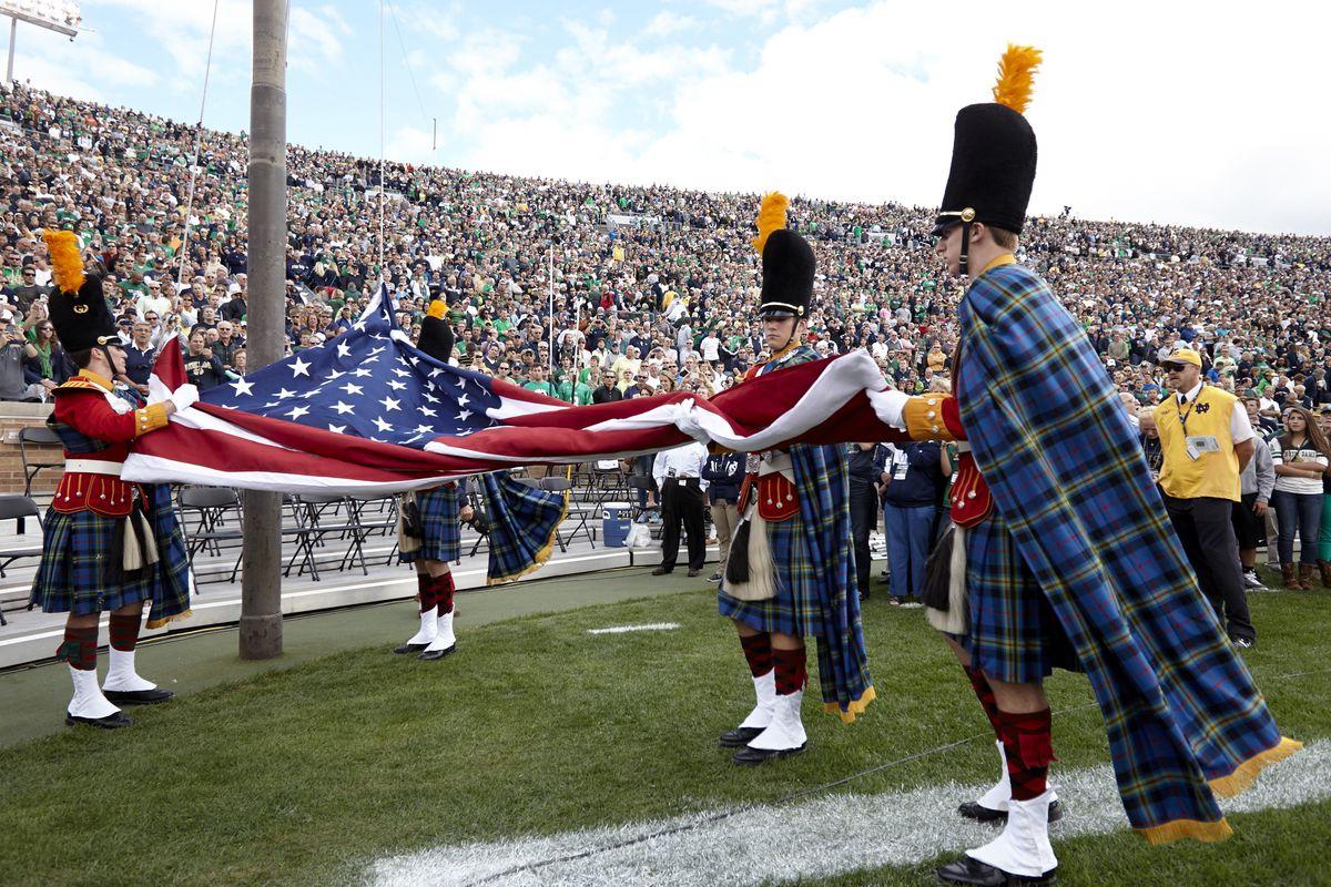 University of Notre Dame vs Michigan State University