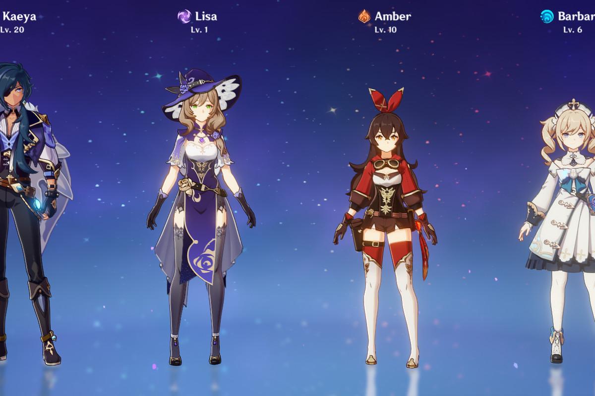 Genshin Impact How To Unlock Six Free Characters Guide Polygon