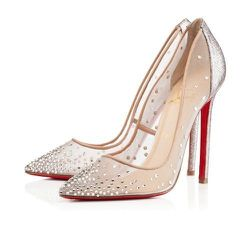 """<a href=""""http://us.christianlouboutin.com/us_en/shop/women/body-strass.html"""">Christian Louboutin 'Body Stass' Jeweled Pumps</a>, $1,195: Slightly nude, slightly sparkly, total sex appeal. [Photo: Christian Louboutin]"""