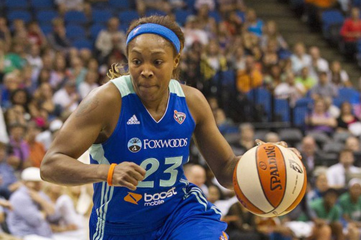 Liberty guard Cappie Pondexter will be a major piece to help head coach Bill Laimbeer improve the team's short and long term prospects