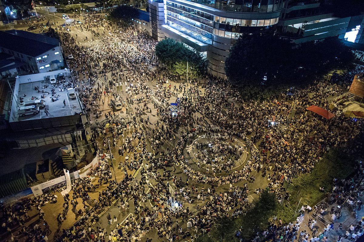 Hong Kong protests 9/27
