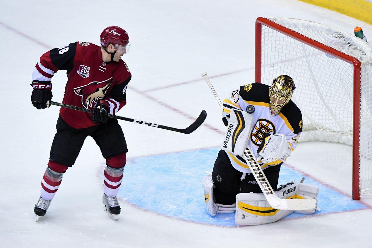 NHL: Boston Bruins at Arizona Coyotes