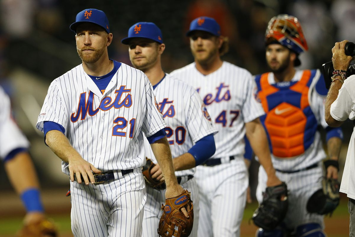 Mets blast Marlins 10-3 behind Alonso, deGrom, but lose McNeil