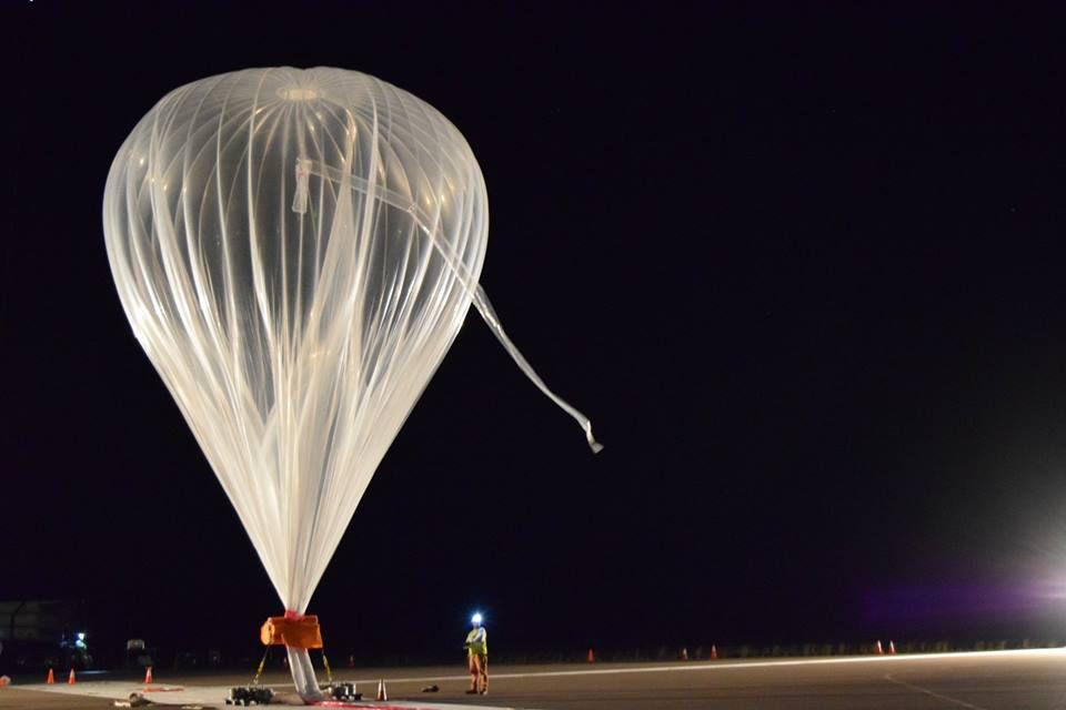 A World View balloon.