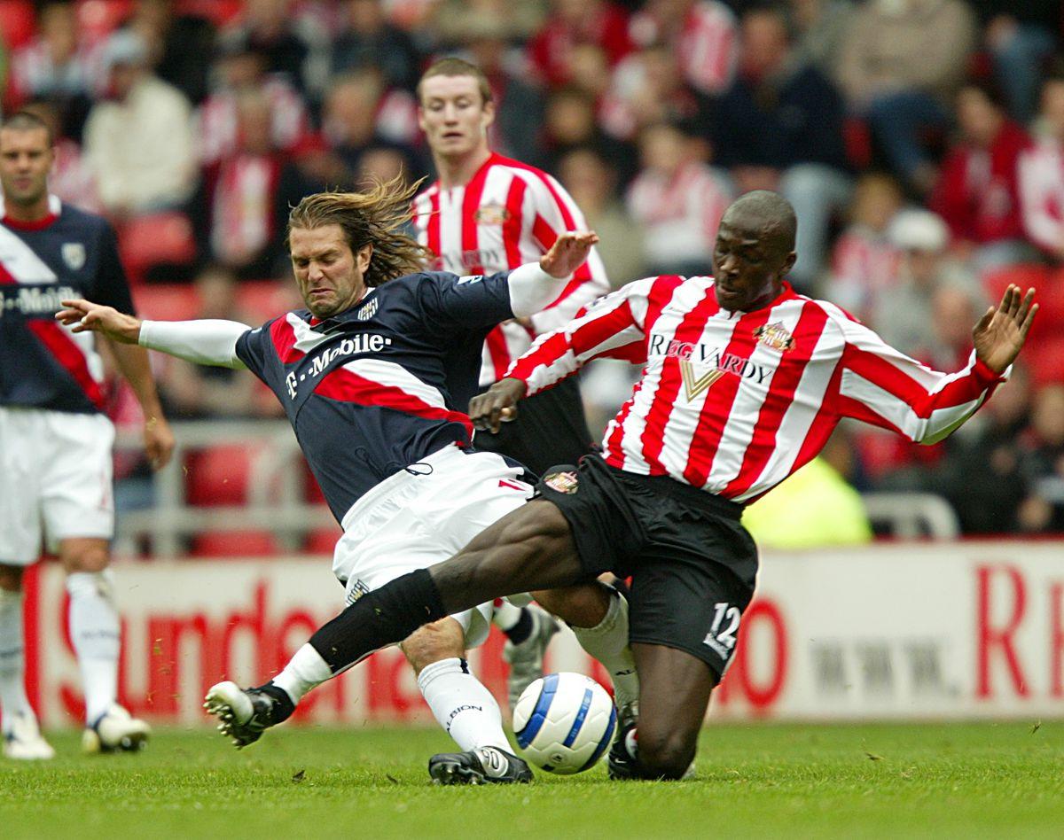 Soccer - FA Barclays Premiership - Sunderland v West Bromwich Albion - Stadium of Light