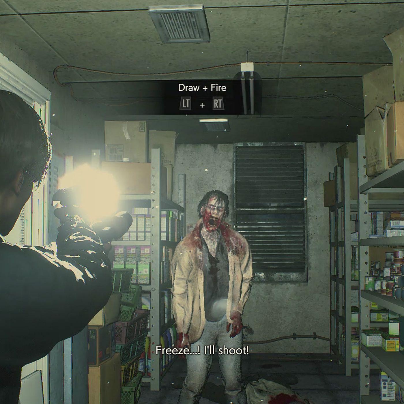 Resident Evil 2 Leon Walkthrough 1 Gas Station And Raccoon City
