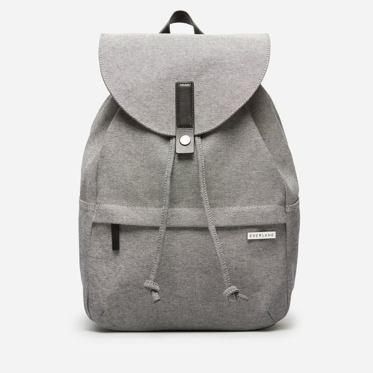 Twill snap backpack