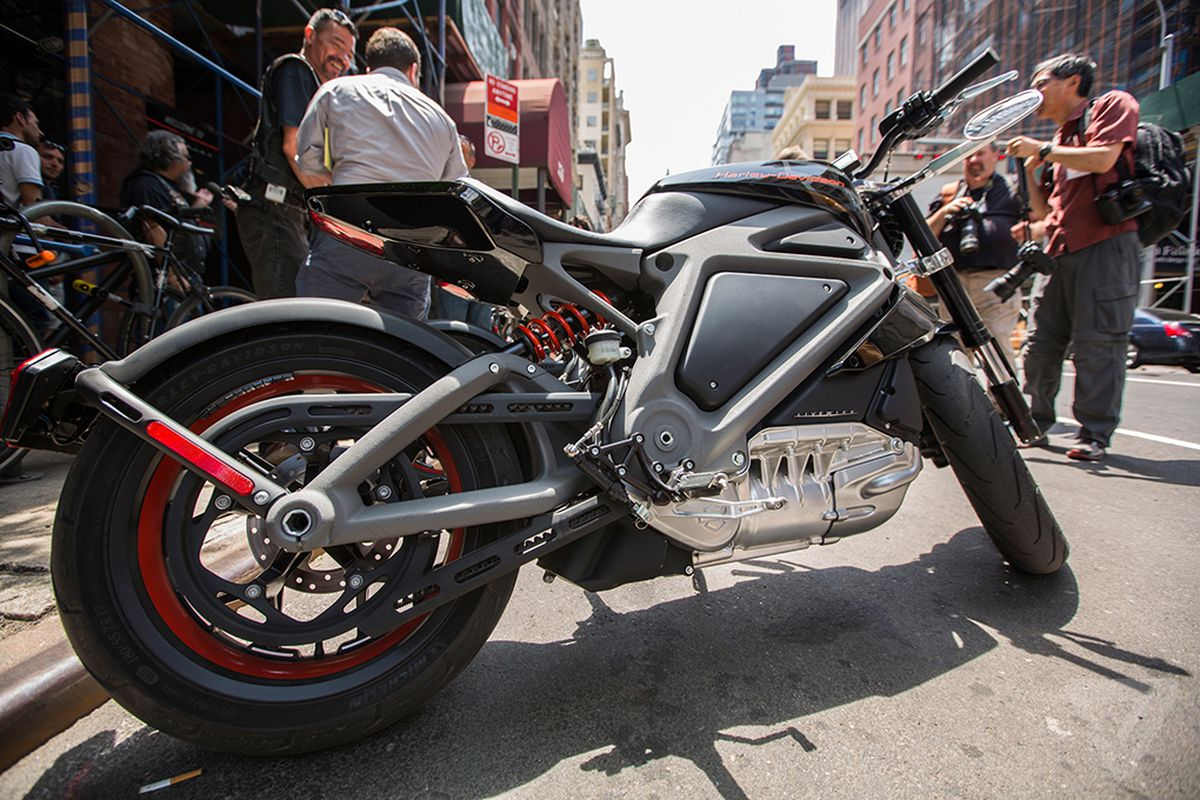 harley-davidson's first production electric motorcycle will debut in