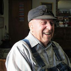 Lifelong Woodruff resident Louis Stuart might be 98, but he doesn't look it.