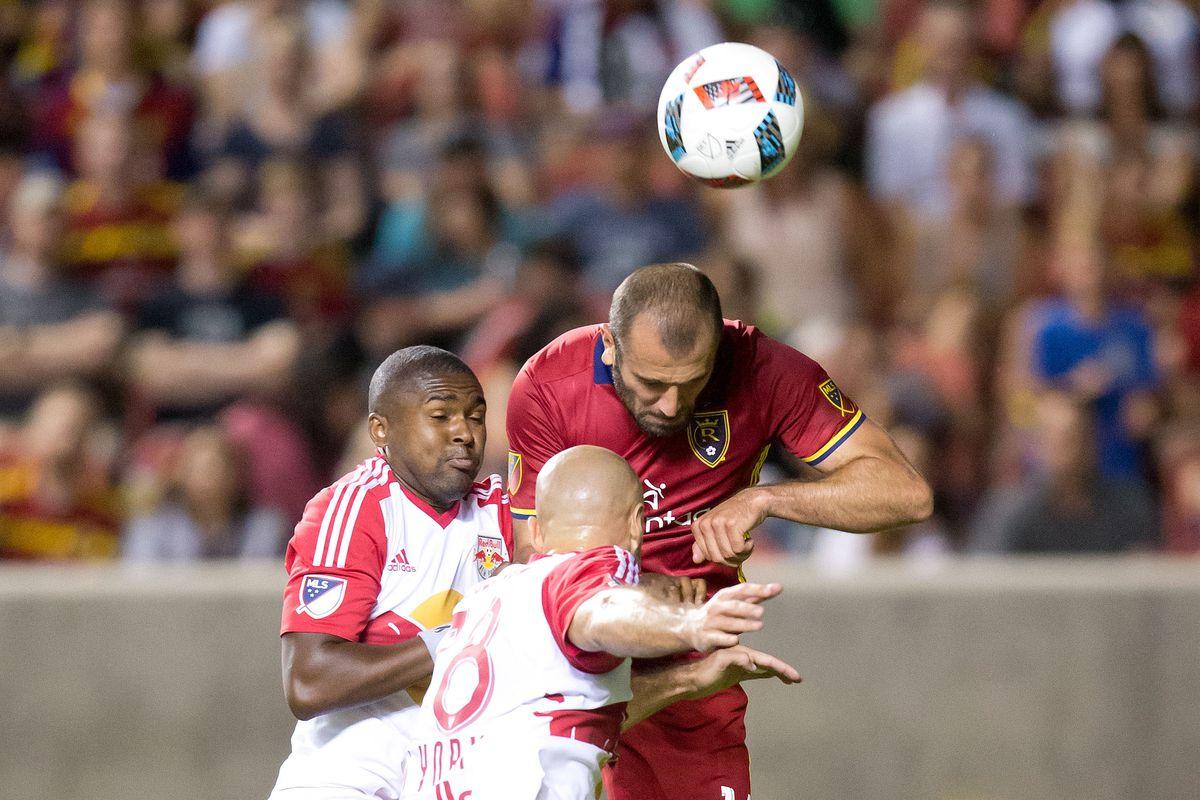 MLS: New York Red Bulls at Real Salt Lake