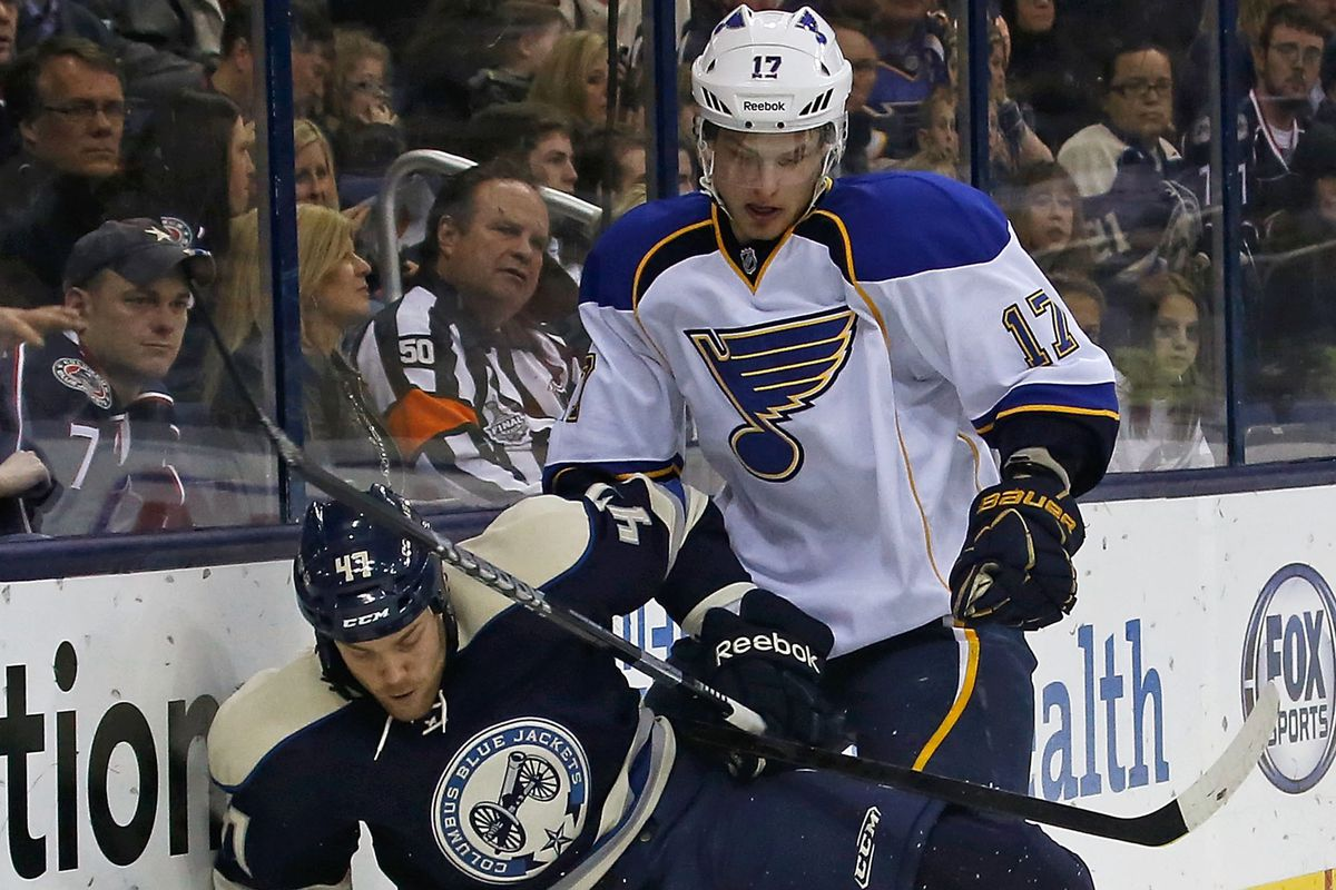Last night, Sobotka was NOT the one dishing out the pain, but rather on the receiving end of it.