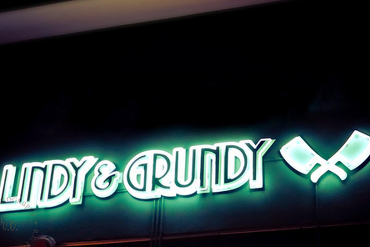 Outside Lindy & Grundy, Mid-City.