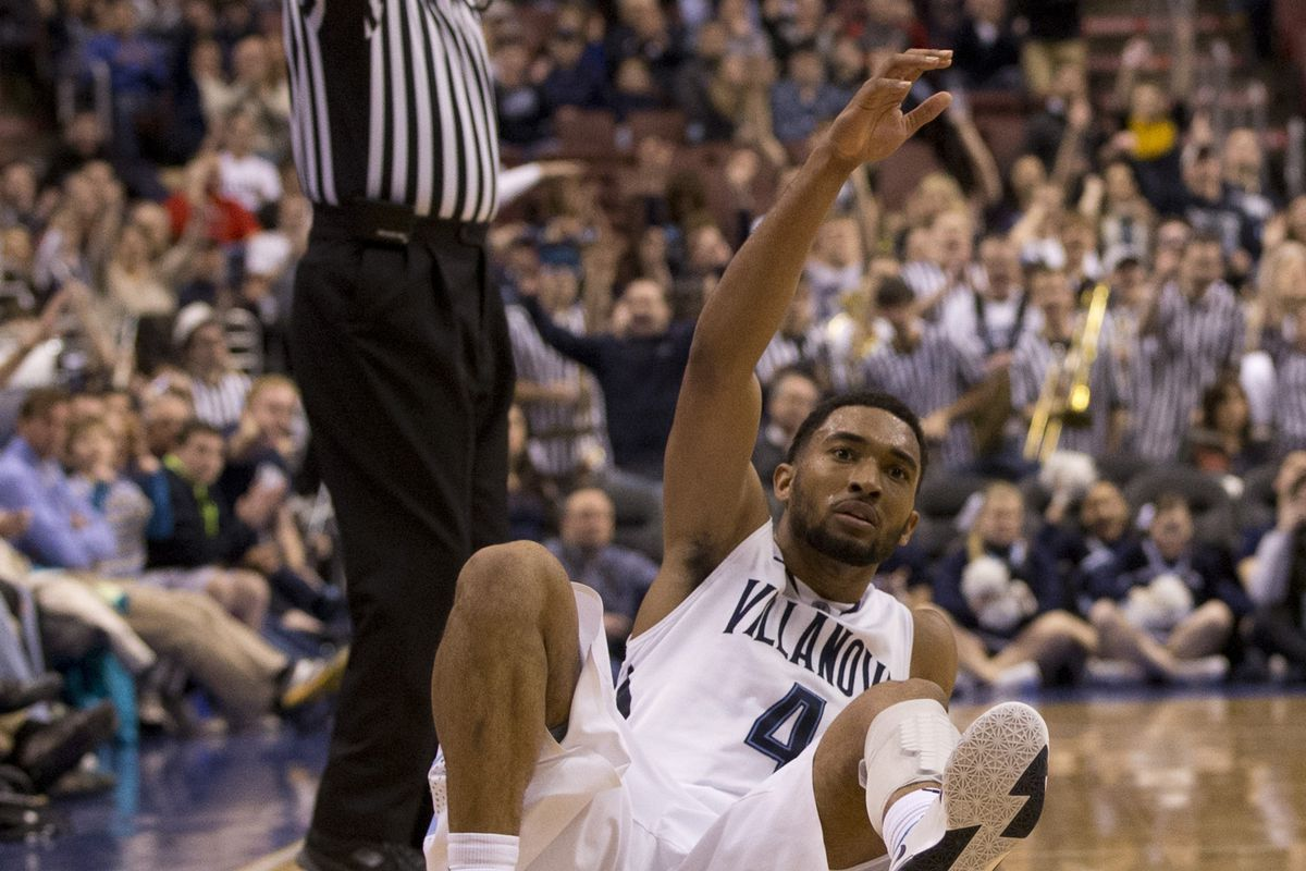 Darrun Hilliard has one of the Big East's more unique follow throughs.