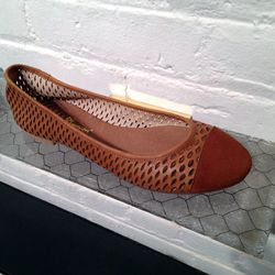 The Mulberry ballet flat is $150.