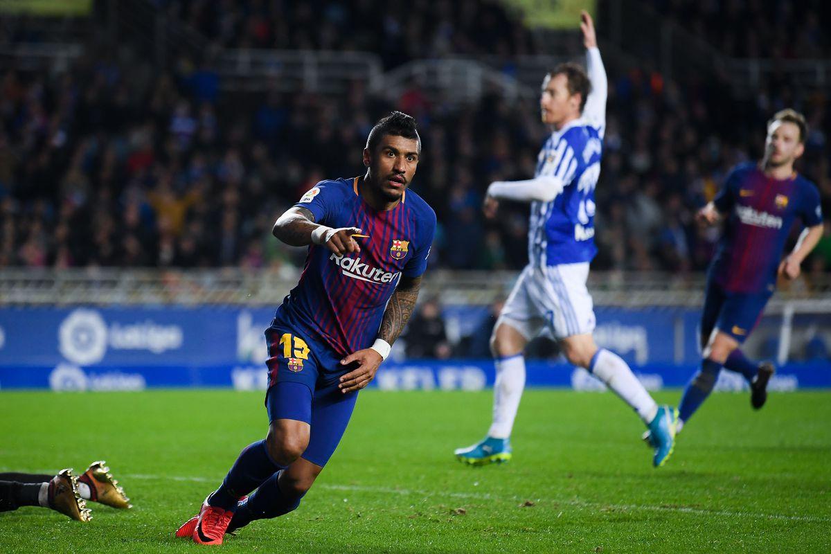 Real Sociedad v Barcelona - La Liga