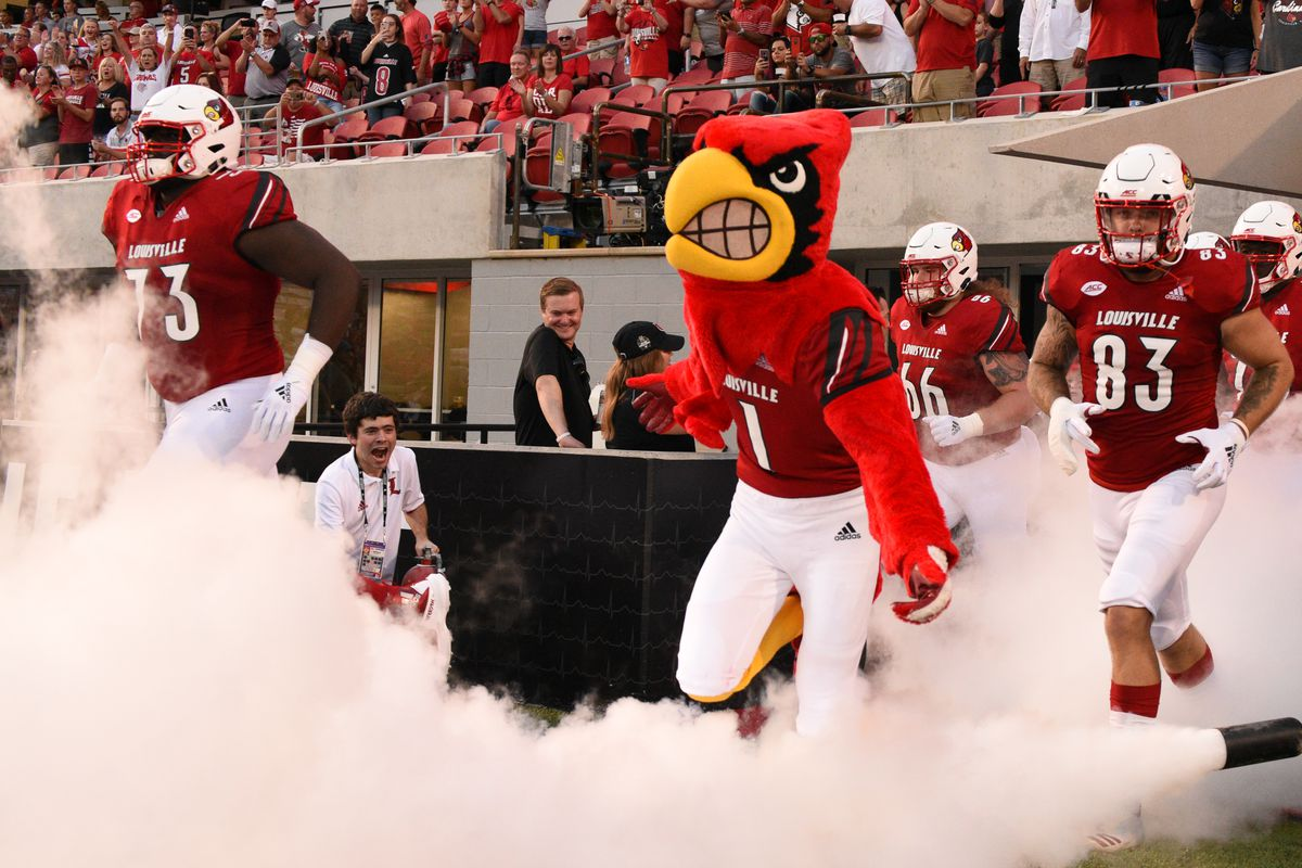 Card football Louisville schedule 2019 releases full -