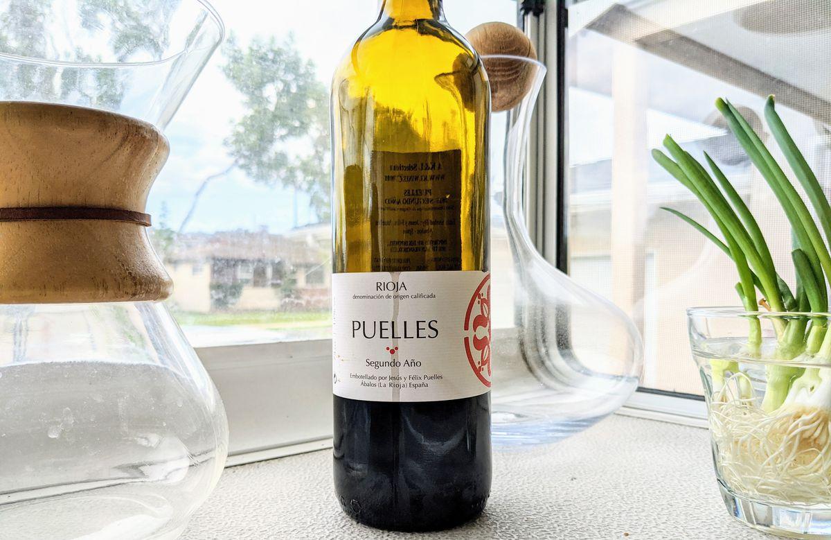 Bodegas Puelles Segundo Ano Rioja