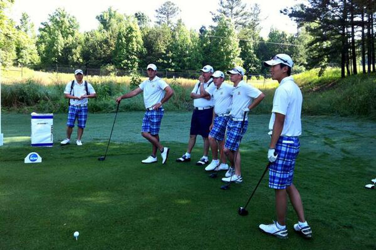 No.1 Cal Golf at the 2013 NCAA Championships