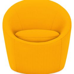 """<b>The Splurge:</b> The outdoor <a href=""""http://www.roomandboard.com/catalog/outdoor/chairs-and-chaises/crest-swivel-chair"""">Crest Swivel Chair</a> ($799) is small enough to fit on pint-size balconies, but big on comfort. It includes a swivel base and dura"""