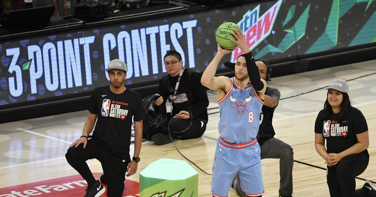Bulls guard Zach LaVine has one memorable All-Star Weekend going