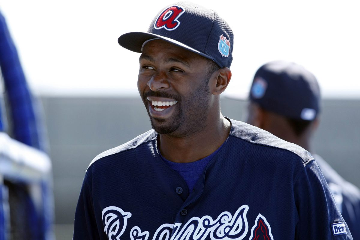 Former All-Star CF Michael Bourn was released by the Blue Jays Monday morning