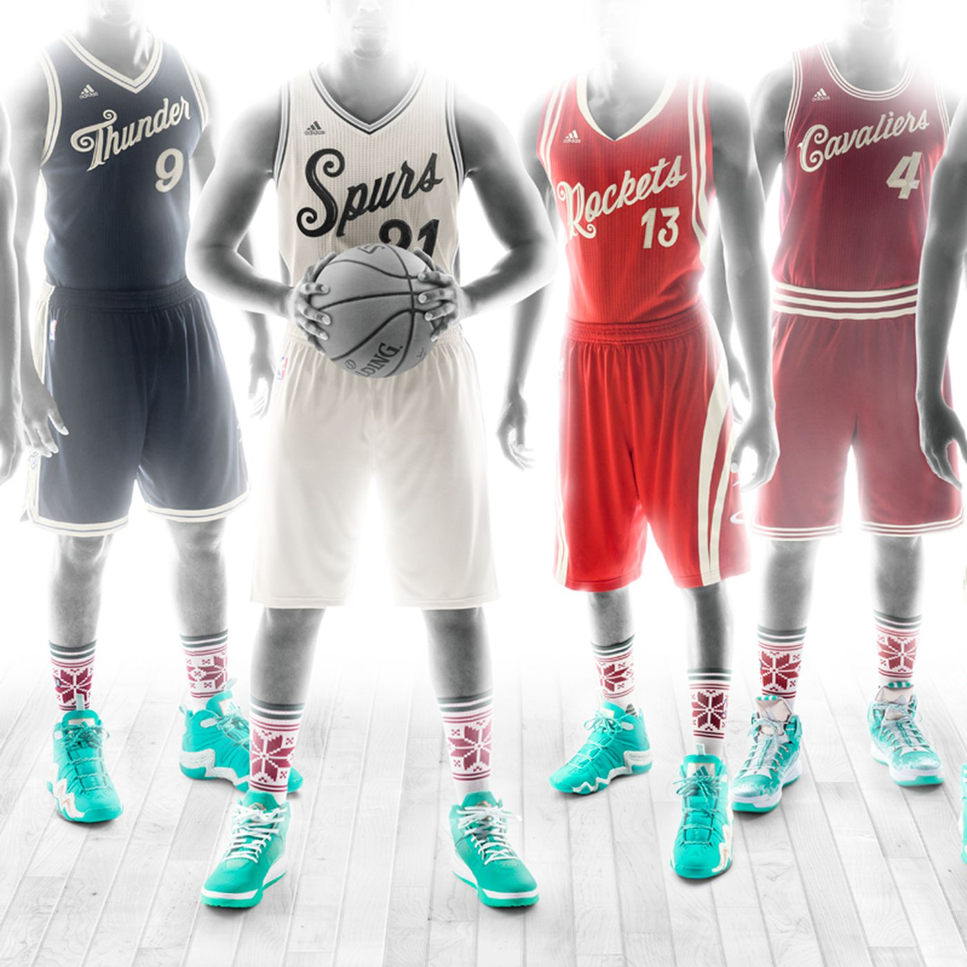 Christmas Jerseys Nba 2020 NBA Christmas jerseys 2015: Finally, a uniform that won't burn the