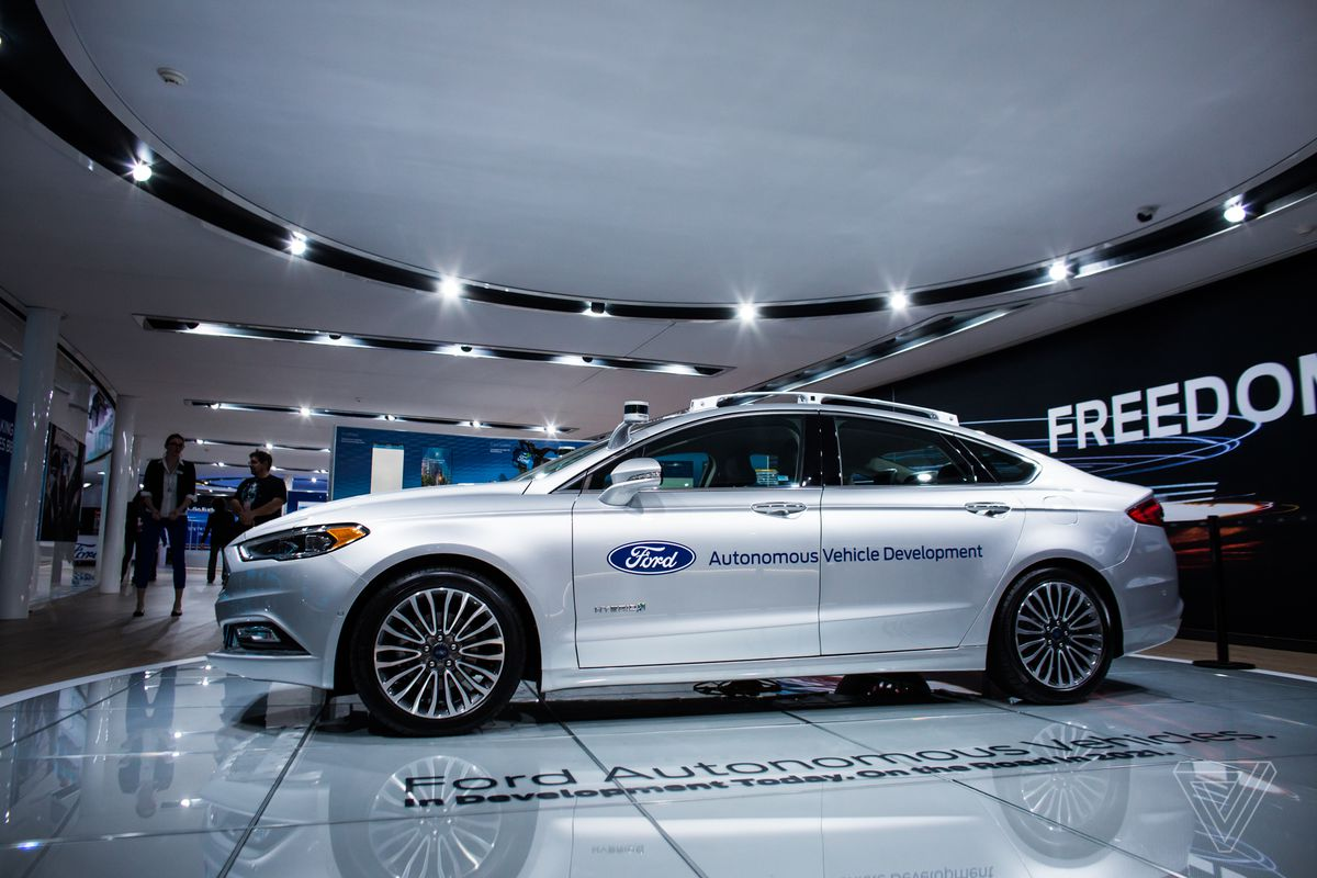 Ford is giving Google and Uber veterans $1 billion to build a self ...