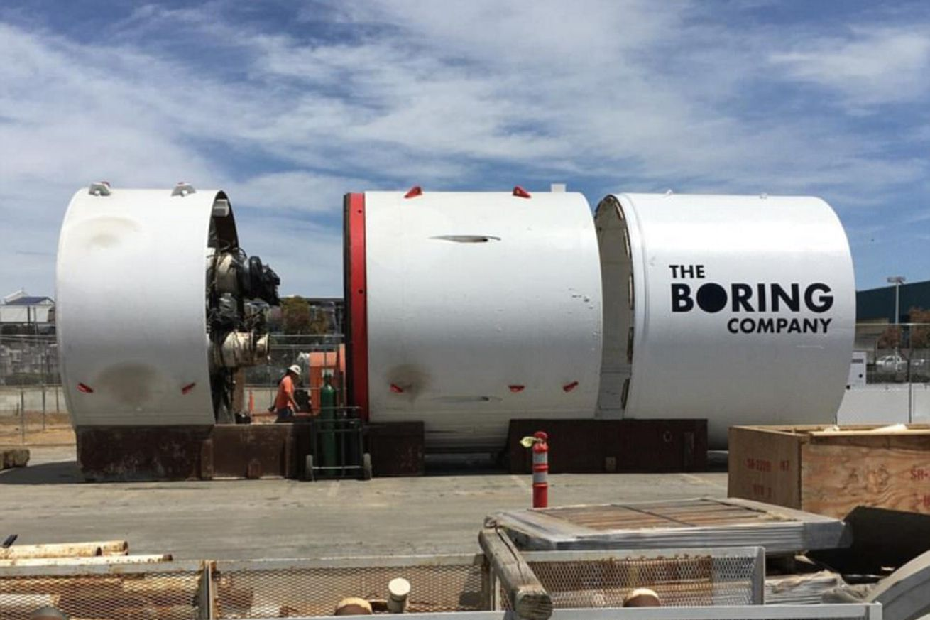 Elon Musk's Boring Company wins approval to dig a two-mile test tunnel in California