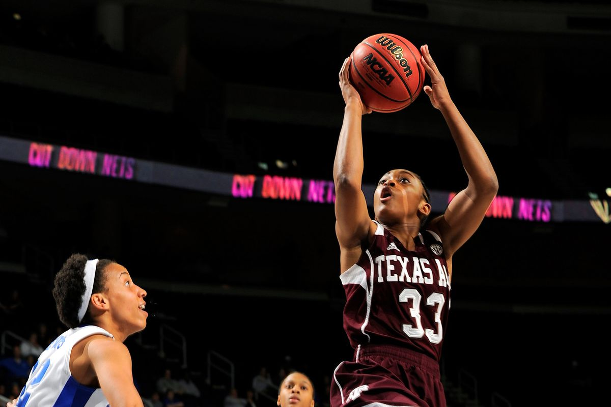 Courtney Walker led a route of the Lady Bulldogs