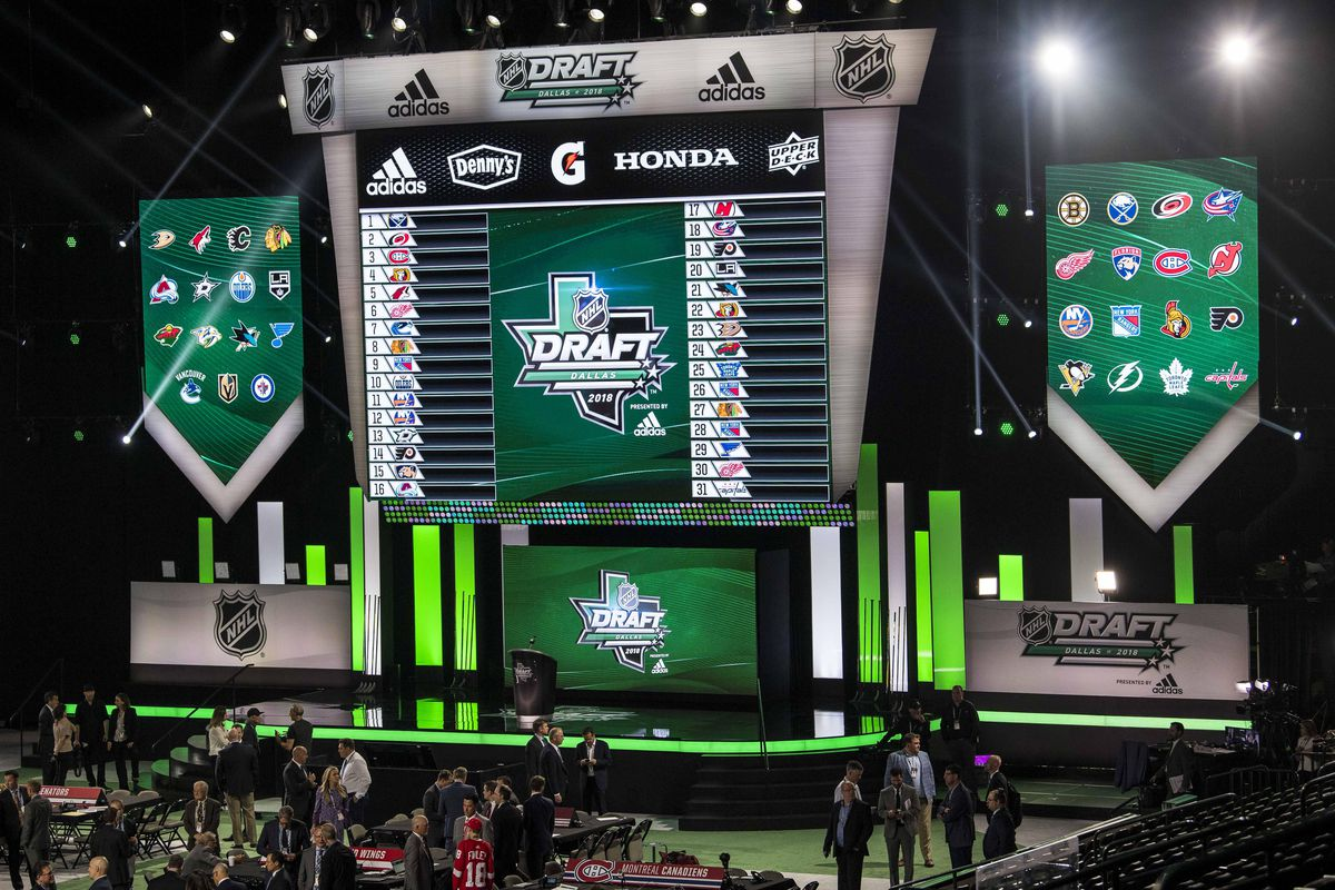 Nhl Draft Order 2018 Complete Selection List For Rounds 2 7 Before Round Every First Pick In The