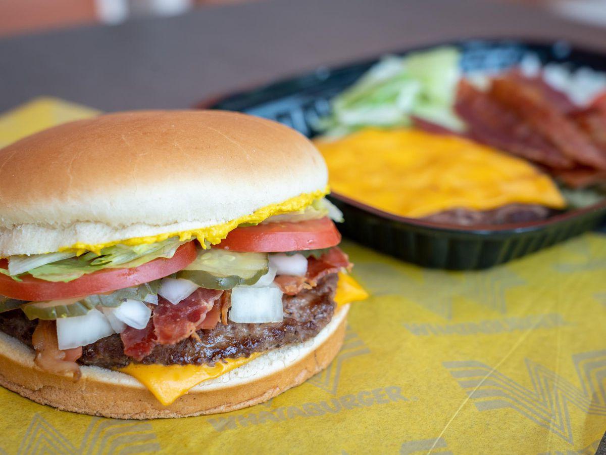 Whataburger's burger