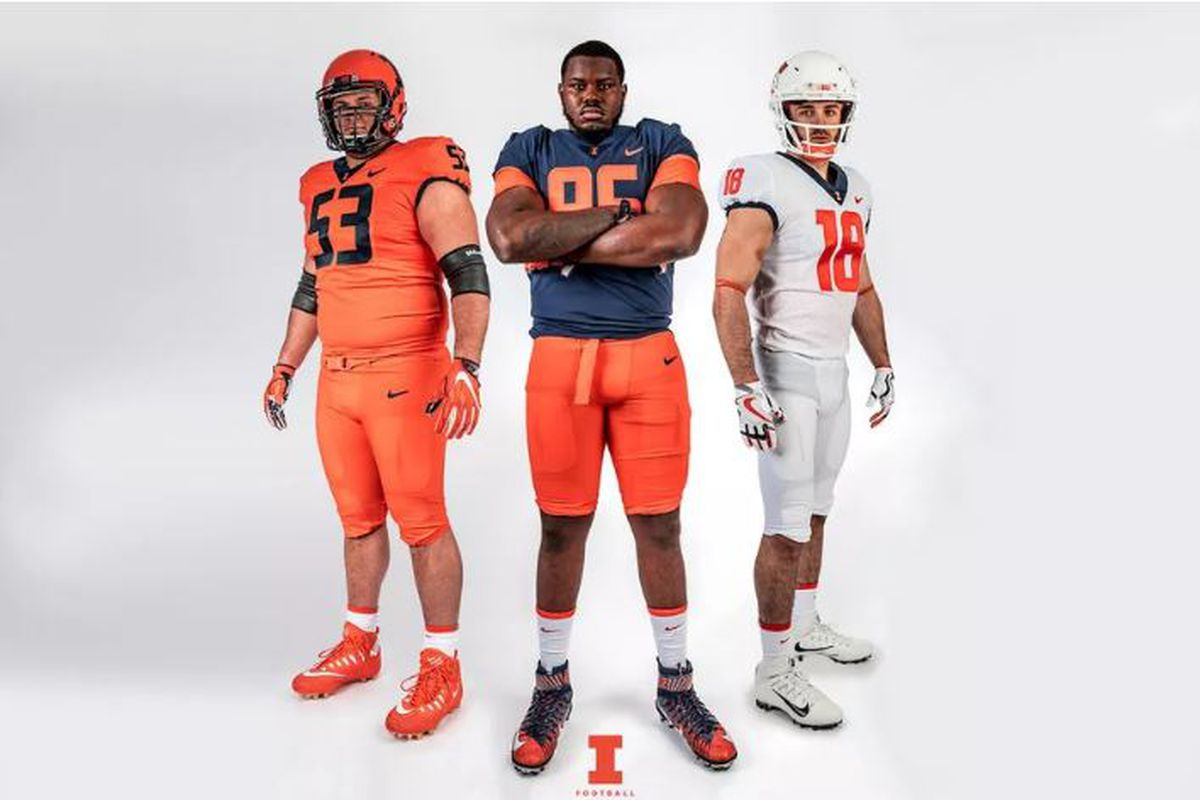 72410579258 Illinois Football Poised To Become Even Less Watchable With Awful Nike  Uniforms // B1G 2018. New ...