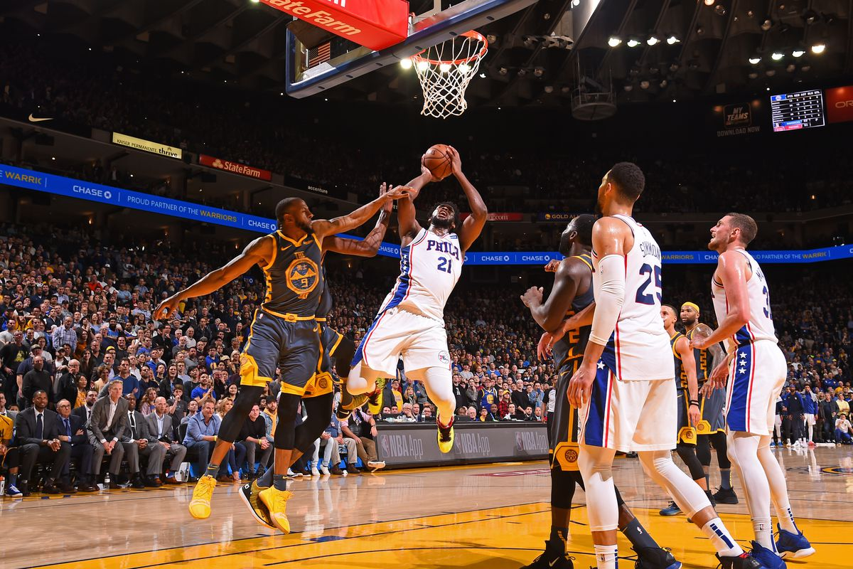 Warriors start 5-game road trip with visit against Sixers