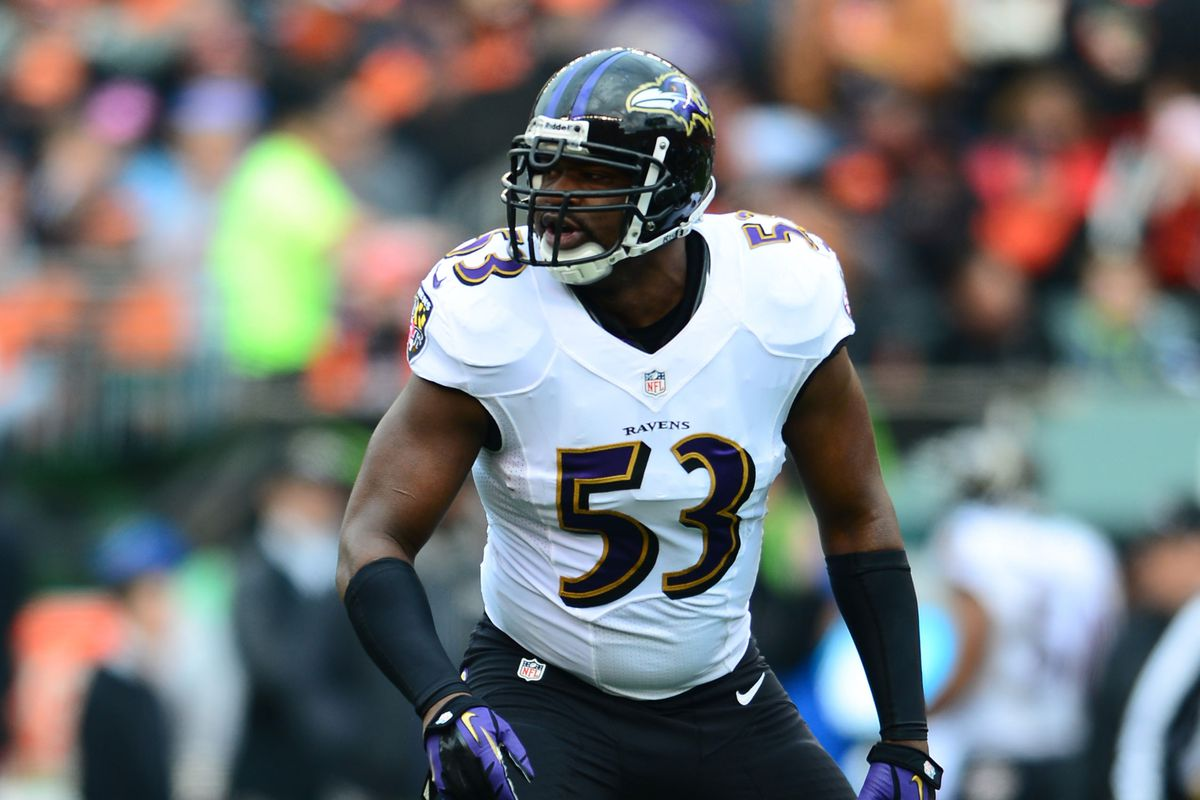 Jameel McClain, along with Vonta Leach, was released Thursday.
