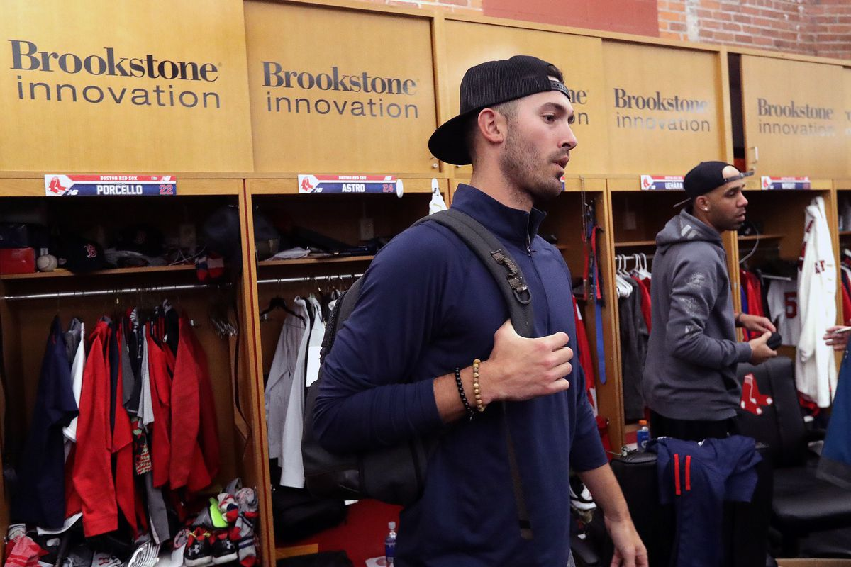 Boston Red Sox Locker Clean Out