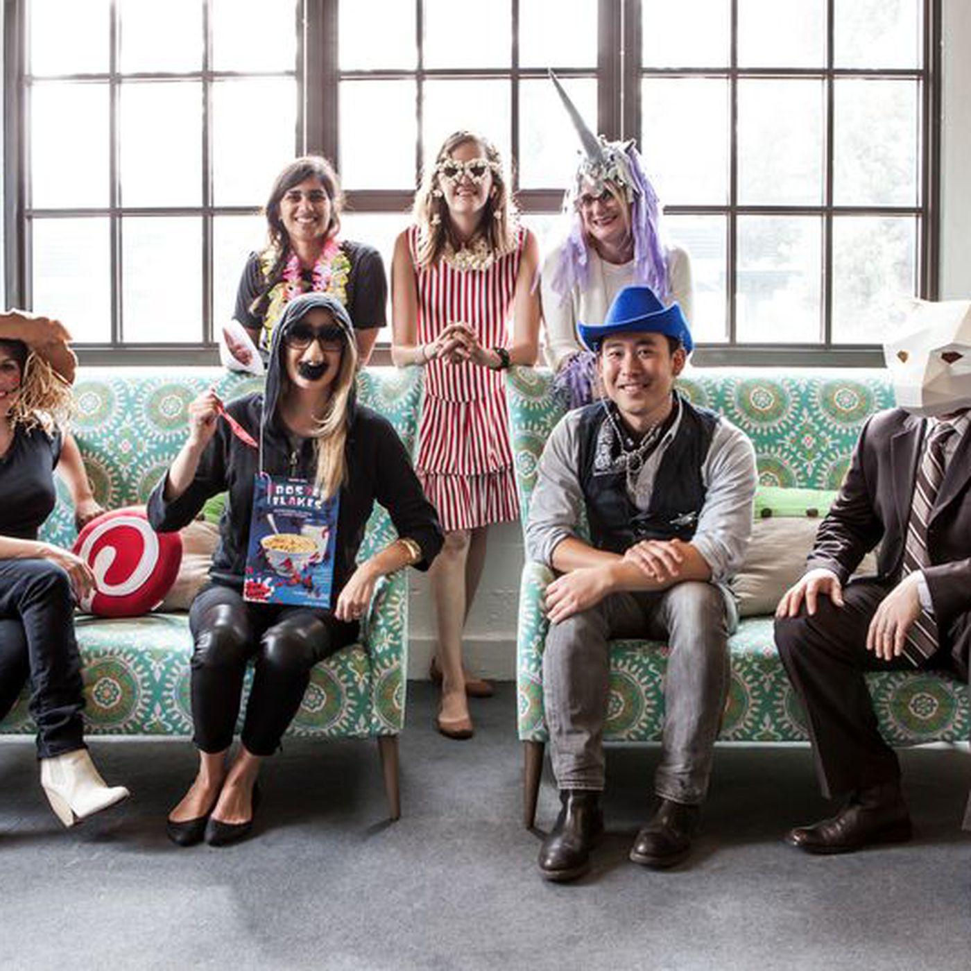 Halloween Costume Pinterest.See Pinterest Staffers Model Their Crafty Halloween Costumes Racked