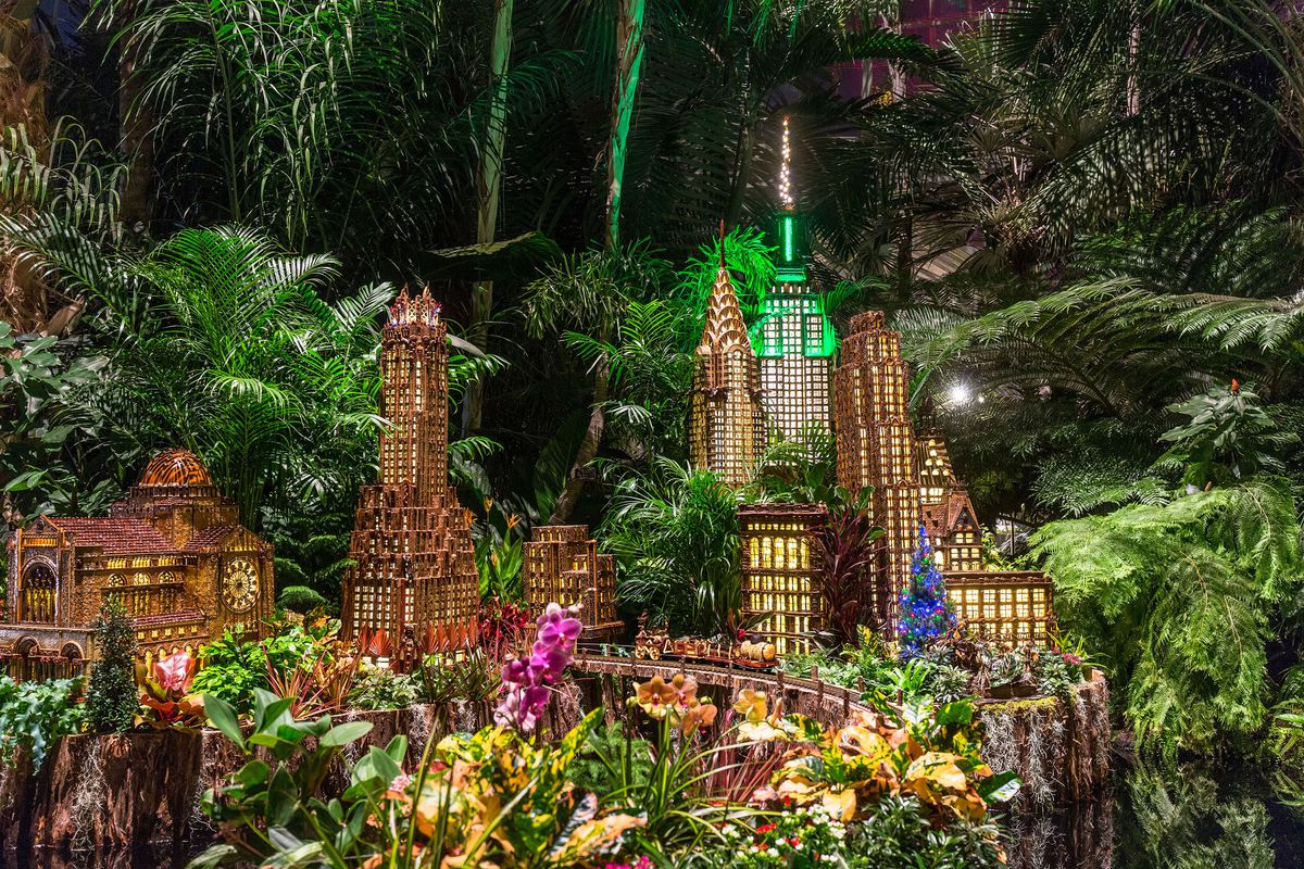 courtesy the new york botanical garden the holiday train show - Bronx Botanical Garden Train Show