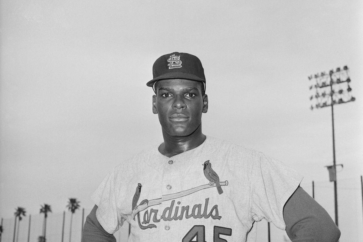 Cardinals Pitcher Bob Gibson