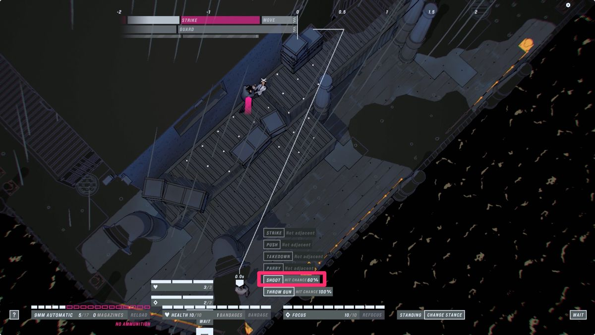 John Wick Hex every action has a hit chance