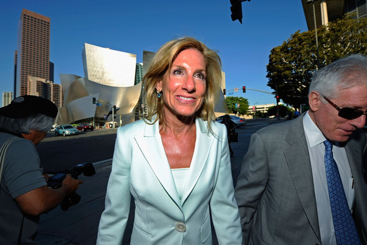 Jamie McCourt asked the Los Angeles Superior Court to force an immediate sale of the Dodgers, before the next payroll date comes up for the cash-strapped team.