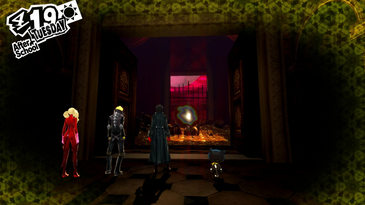 Persona 5 Guide Kamoshida Castle Palace Walkthrough Polygon