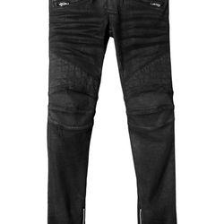 Balmain x H&M jeans, £199.99 ($225.32 at current exchange)