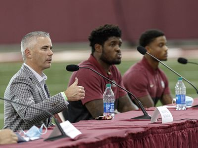 Florida Governor Ron DeSantis Holds Collegiate Athletics Roundtable at Florida State University